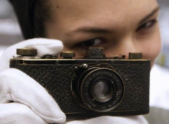 A câmera fotográfica mais cara do mundo