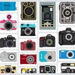 Coleção de ícones de câmeras fotográficas | The Camera Collection