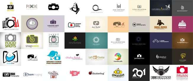 Logomarca de fotografos