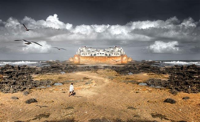 Fotógrafo cria 'universo paralelo' por manipulação digital