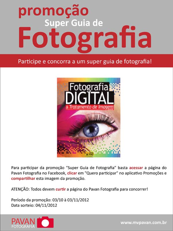 Promoção: Super Guia de Fotografia