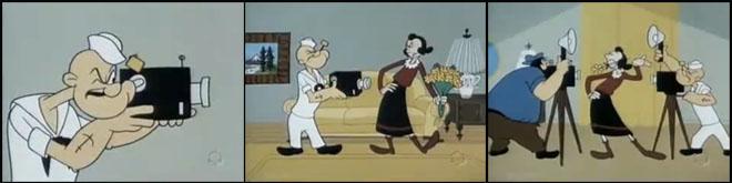 O fotógrafo marinheiro Popeye | Desenho animado