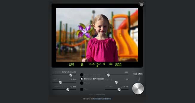 Camera Simulator