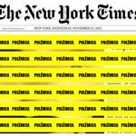 Polêmica: veja foto de seio que deixou leitores do NYT ofendidos