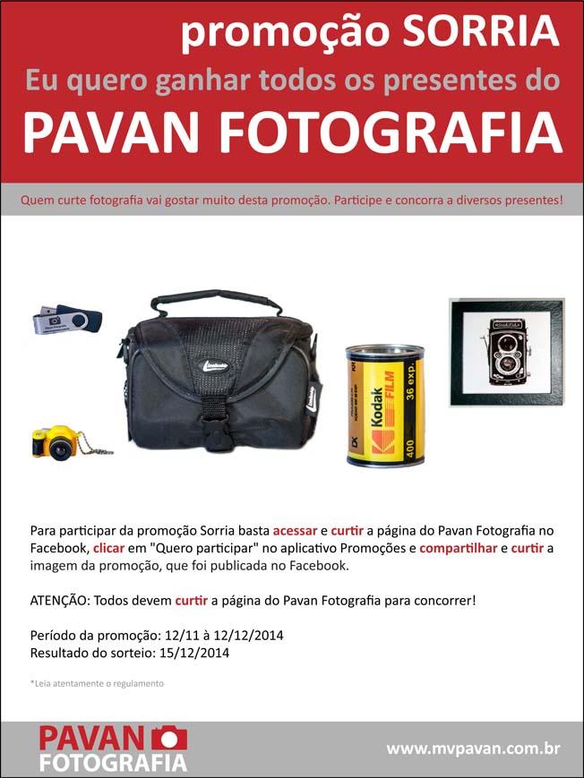 Promoção Fotografia Sorria - Pavan Fotografia