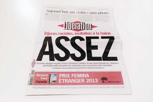 Poder Importância Fotografia Jornal Liberation