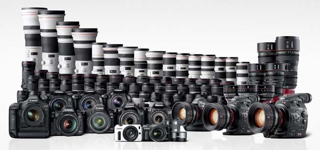 Fabricacao-Cameras-Canon