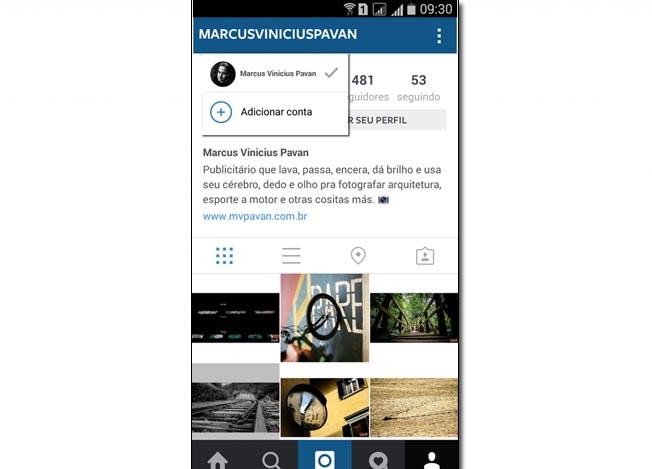 Instagram Adicionar Conta (2)