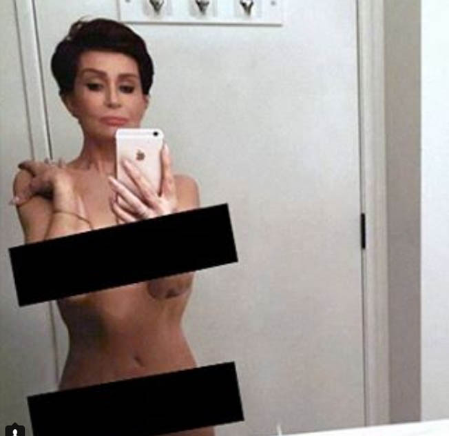 Sharon Osbourne Nude Instagram (2)