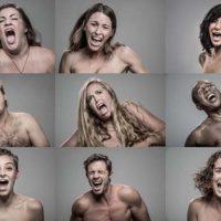 Chocante: projeto fotográfico mostra a reação das pessoas levando choque